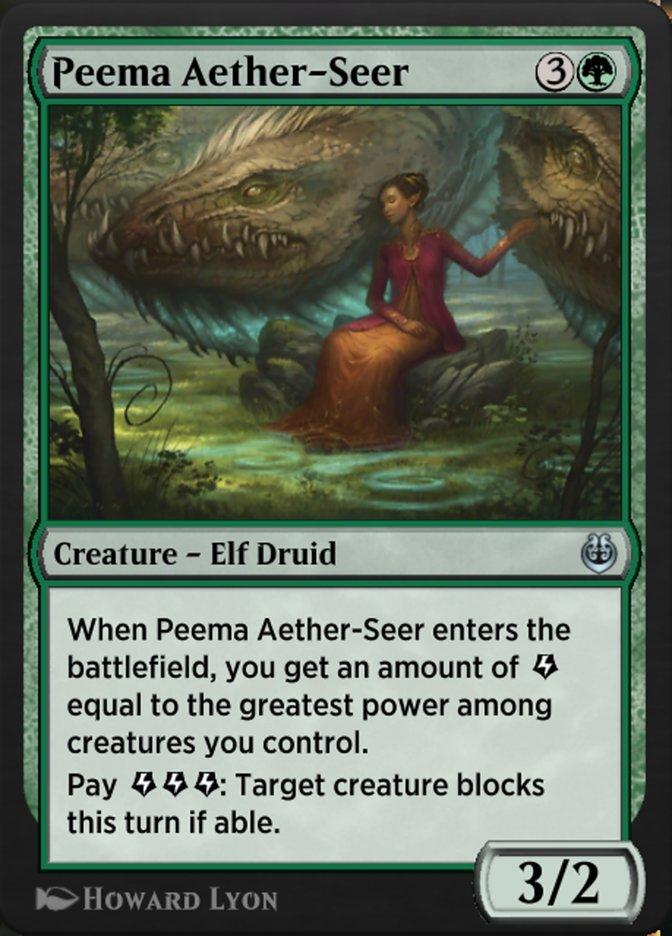 Carta /Peema Aether-Seer de Magic the Gathering