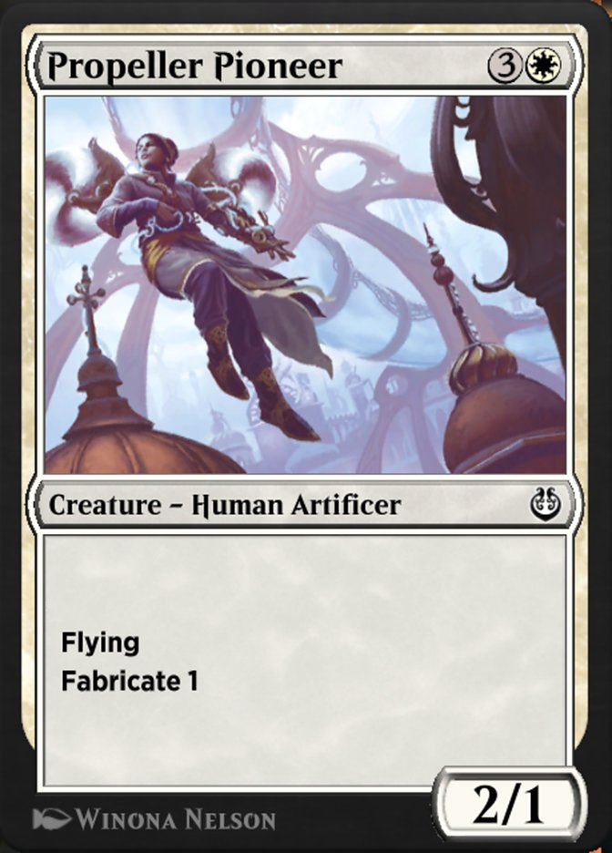 Carta /Propeller Pioneer de Magic the Gathering