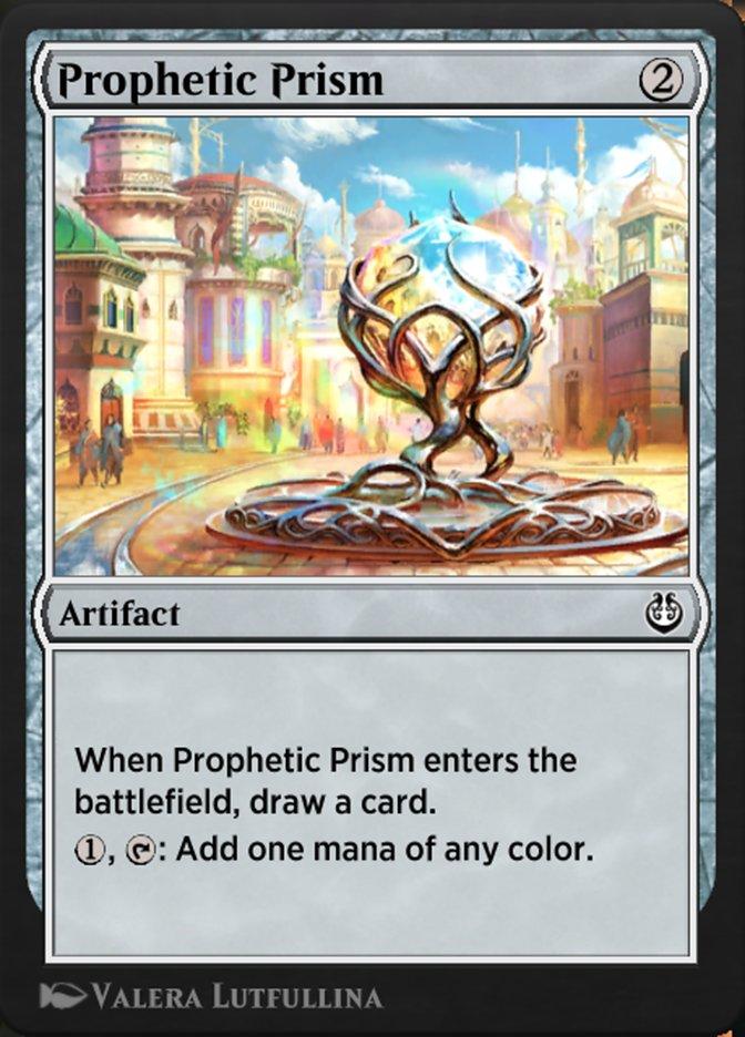 Carta /Prophetic Prism de Magic the Gathering