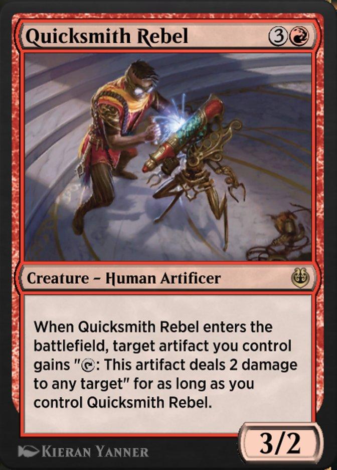 Carta /Quicksmith Rebel de Magic the Gathering