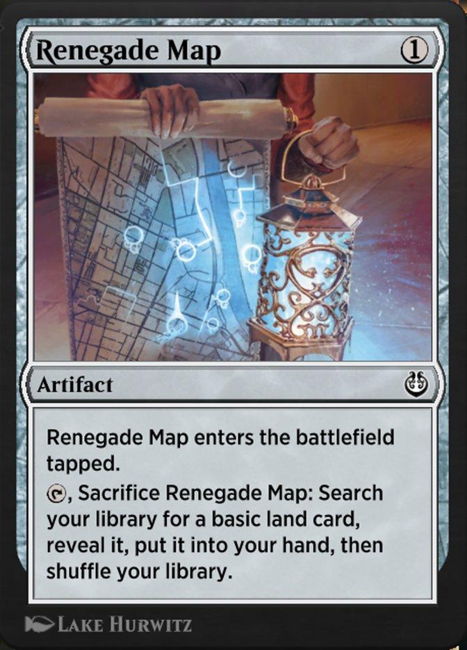 Carta /Renegade Map de Magic the Gathering