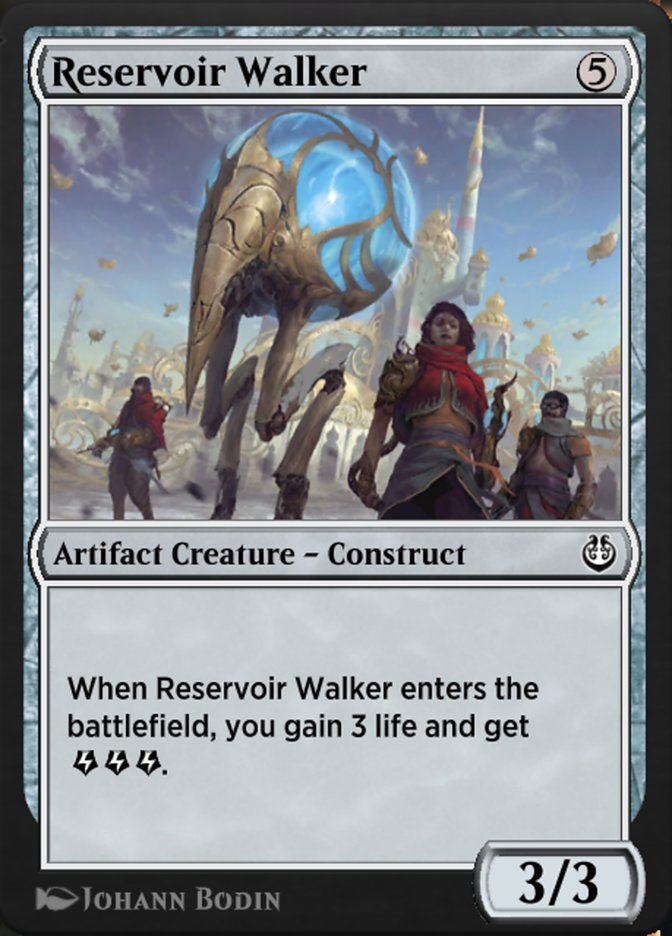 Carta /Reservoir Walker de Magic the Gathering
