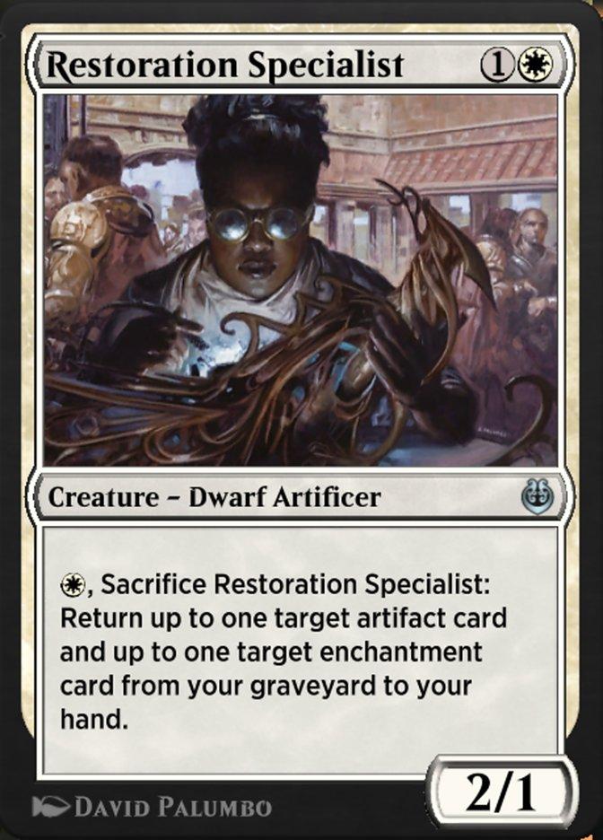 Carta /Restoration Specialist de Magic the Gathering