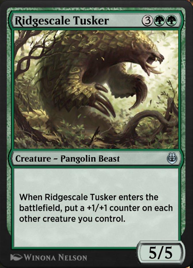 Carta /Ridgescale Tusker de Magic the Gathering
