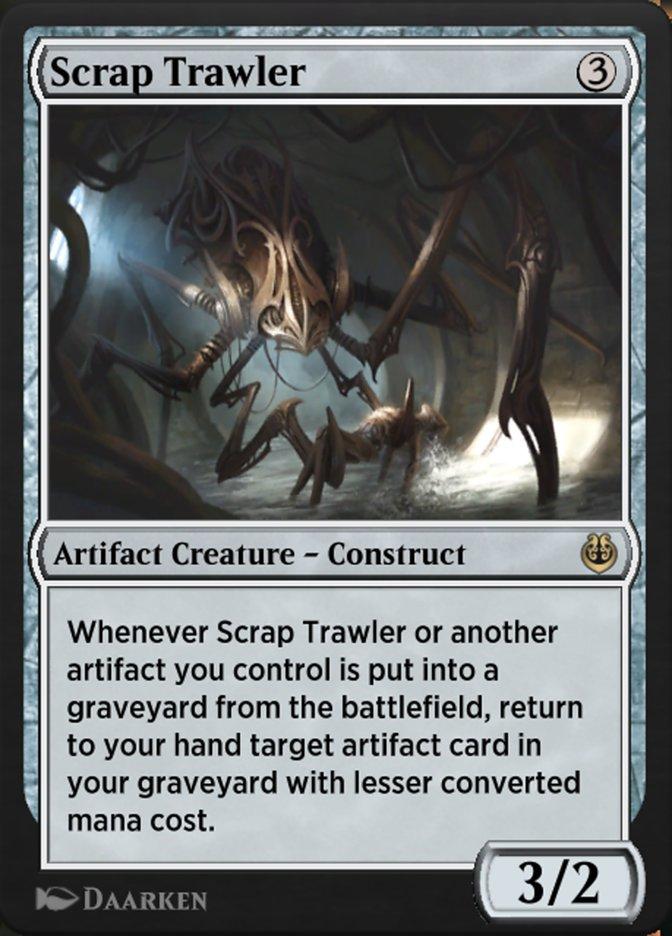 Carta /Scrap Trawler de Magic the Gathering