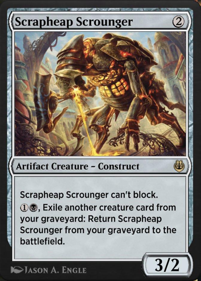Carta /Scrapheap Scrounger de Magic the Gathering