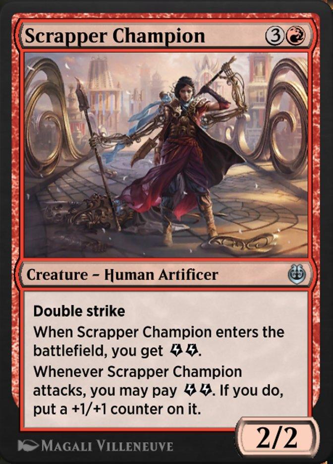Carta /Scrapper Champion de Magic the Gathering