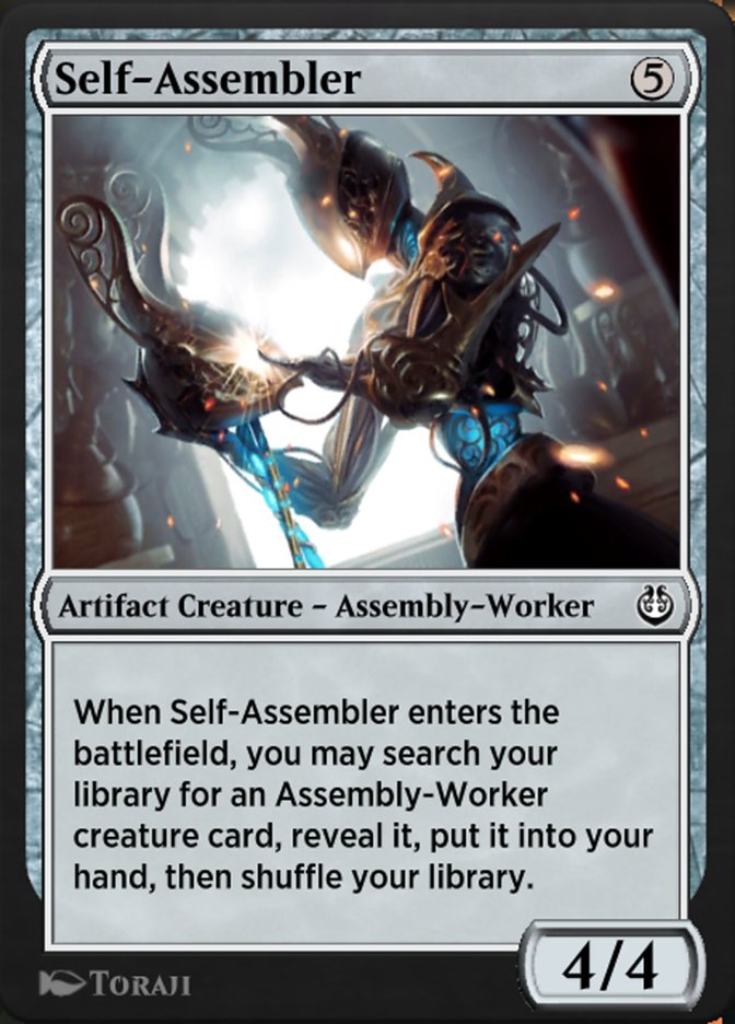 Carta /Self-Assembler de Magic the Gathering