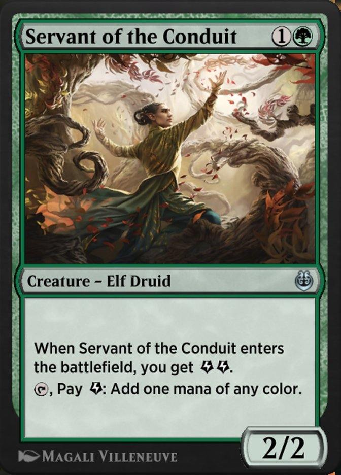 Carta /Servant of the Conduit de Magic the Gathering