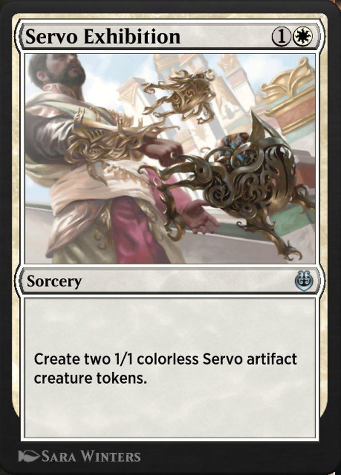 Carta /Servo Exhibition de Magic the Gathering