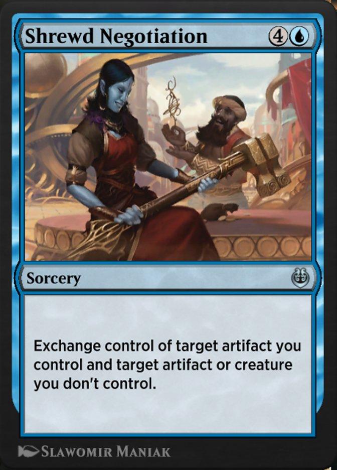 Carta /Shrewd Negotiation de Magic the Gathering