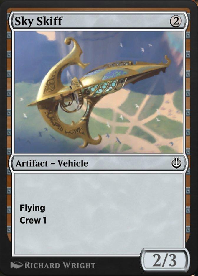 Carta /Sky Skiff de Magic the Gathering