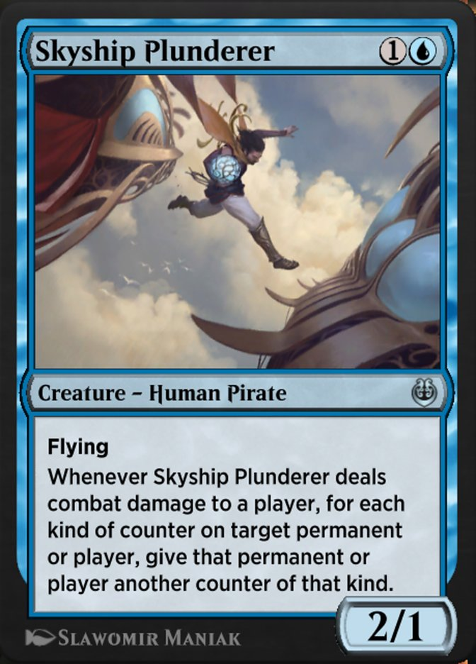 Carta /Skyship Plunderer de Magic the Gathering