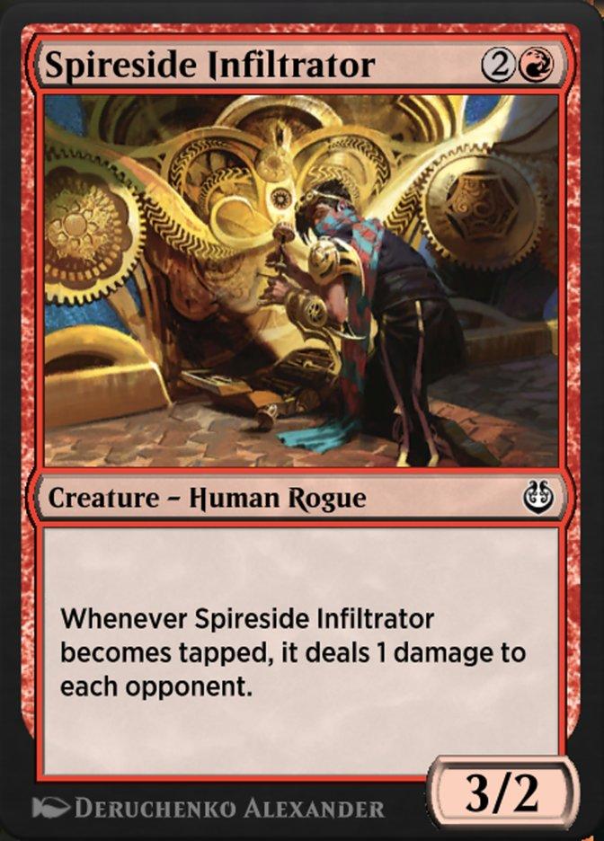 Carta /Spireside Infiltrator de Magic the Gathering