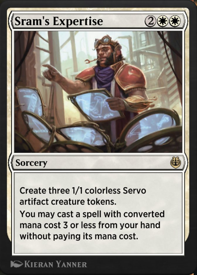 Carta /Sram's Expertise de Magic the Gathering