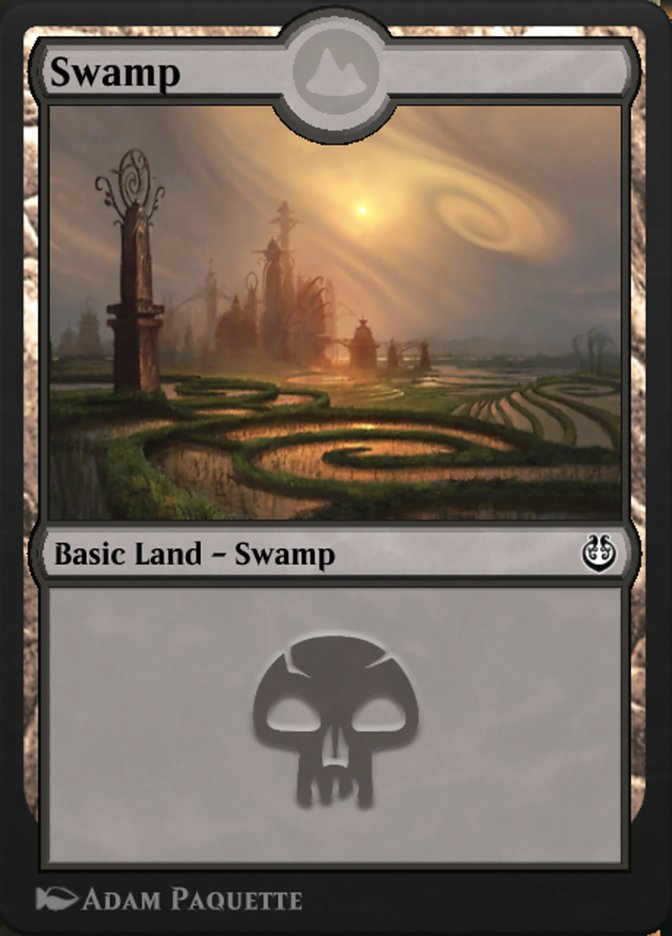 Carta /Swamp de Magic the Gathering
