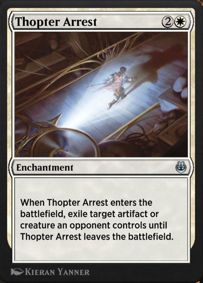 Carta /Thopter Arrest de Magic the Gathering