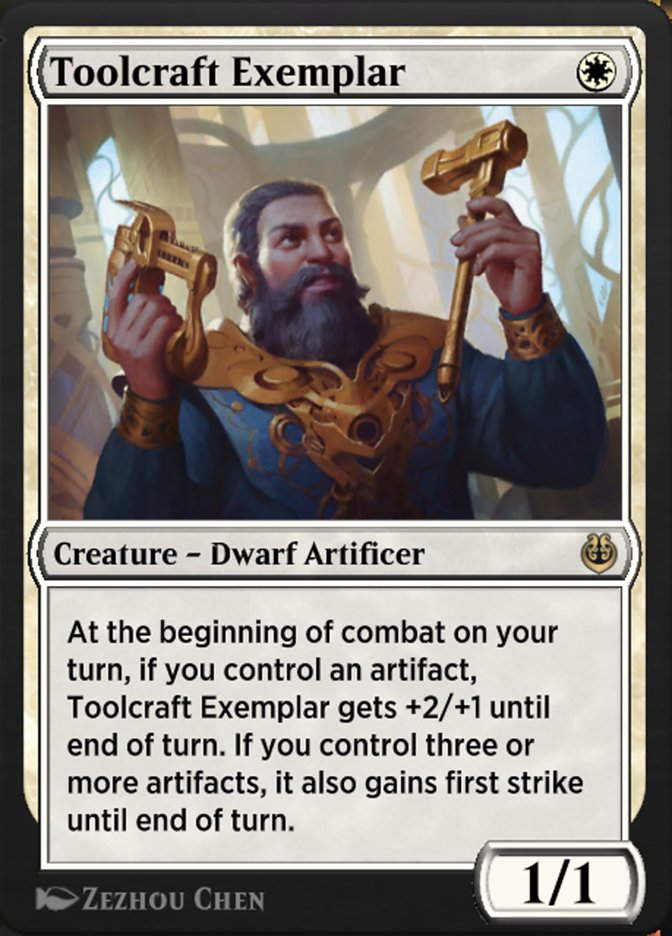 Carta /Toolcraft Exemplar de Magic the Gathering