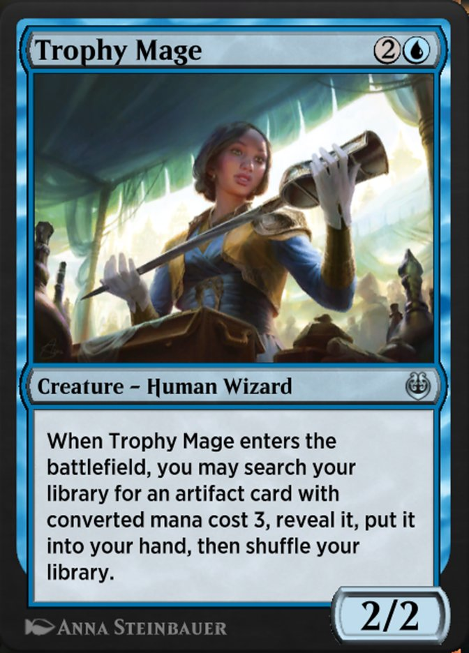 Carta /Trophy Mage de Magic the Gathering