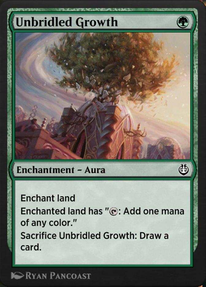 Carta /Unbridled Growth de Magic the Gathering