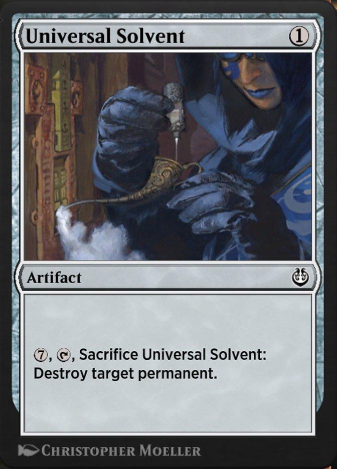 Carta /Universal Solvent de Magic the Gathering