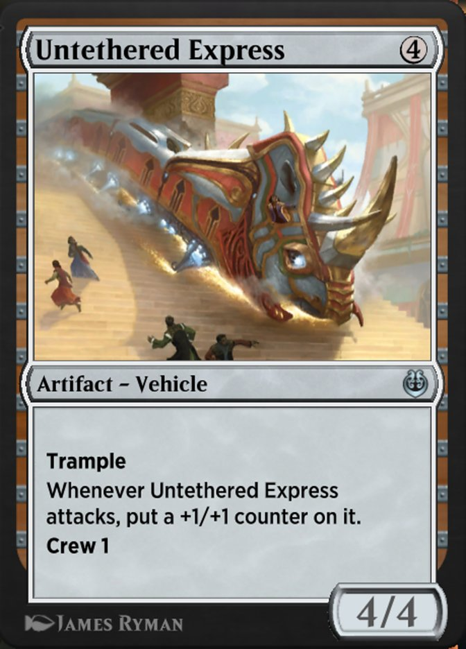 Carta /Untethered Express de Magic the Gathering