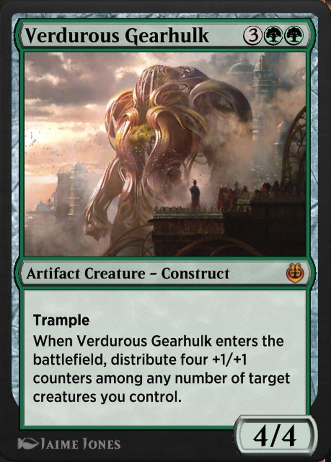 Carta /Verdurous Gearhulk de Magic the Gathering