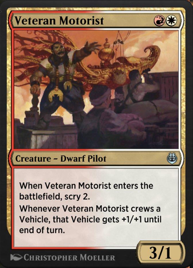 Carta /Veteran Motorist de Magic the Gathering