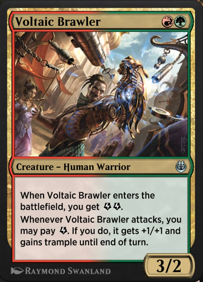 Carta /Voltaic Brawler de Magic the Gathering