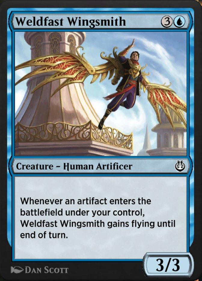 Carta /Weldfast Wingsmith de Magic the Gathering