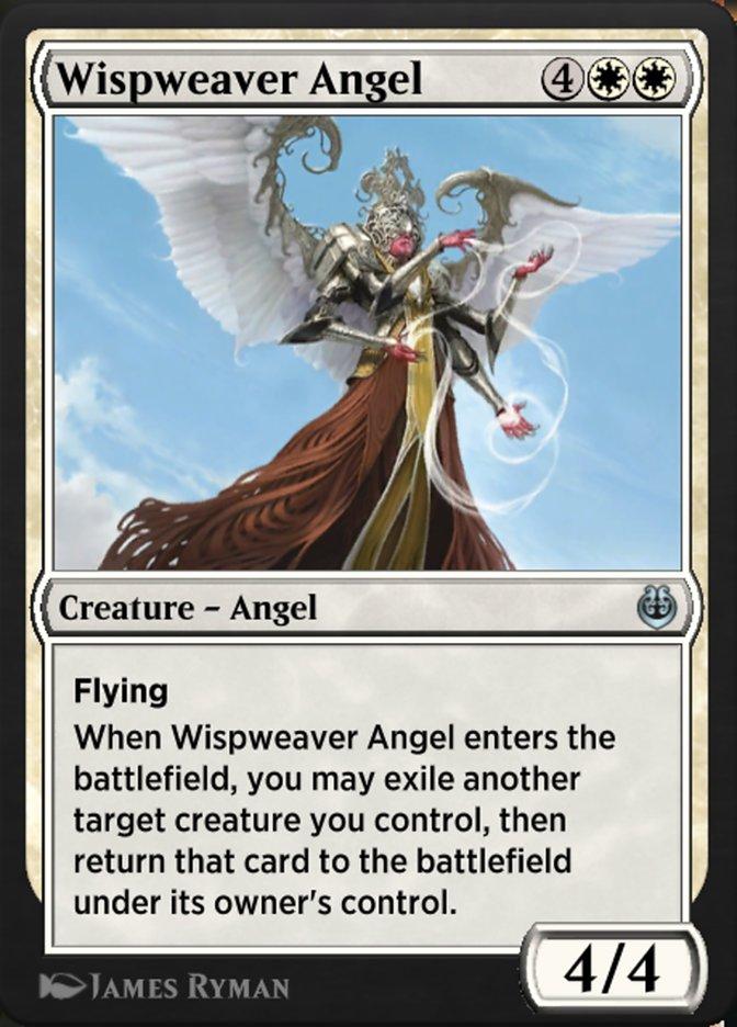 Carta /Wispweaver Angel de Magic the Gathering