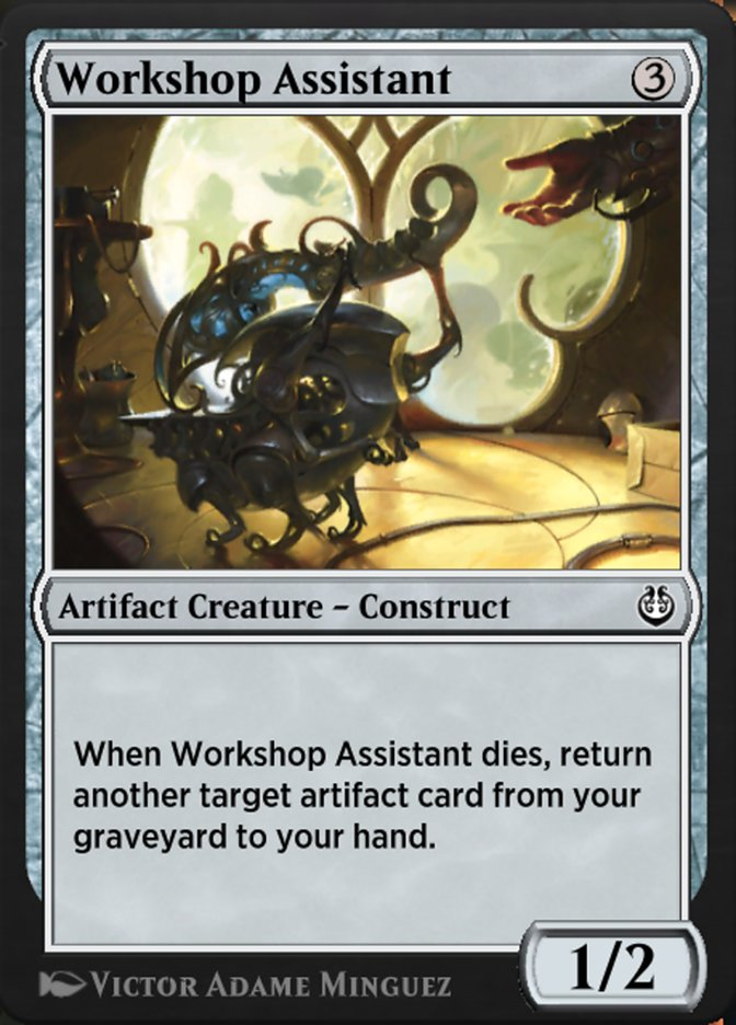 Carta /Workshop Assistant de Magic the Gathering