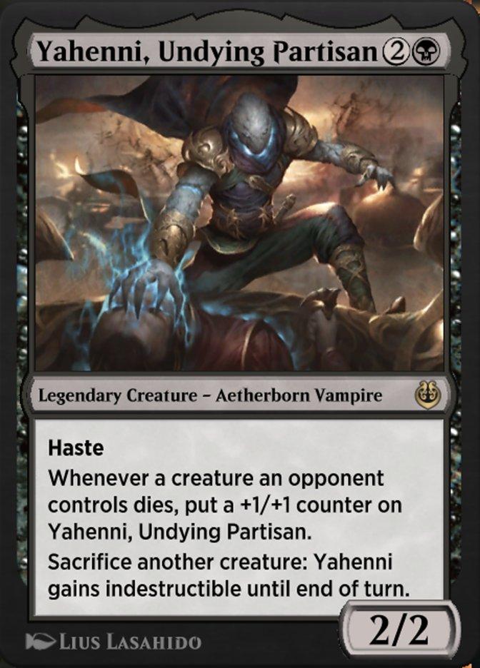 Carta /Yahenni, Undying Partisan de Magic the Gathering