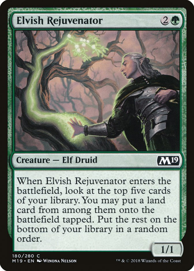 Elvish Rejuvenator