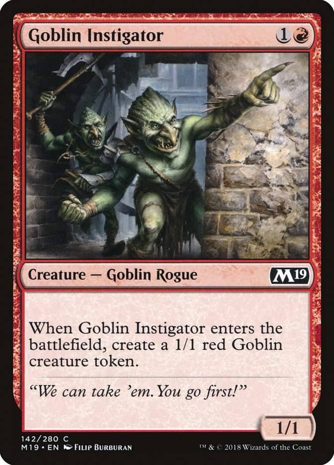 Goblin Instigator