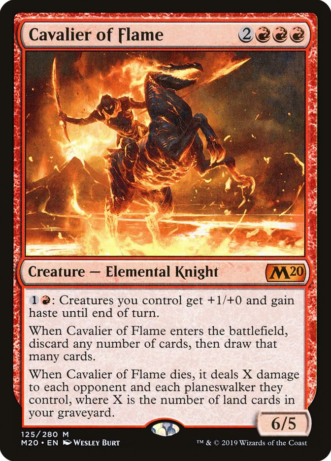 Cavalier of Flame