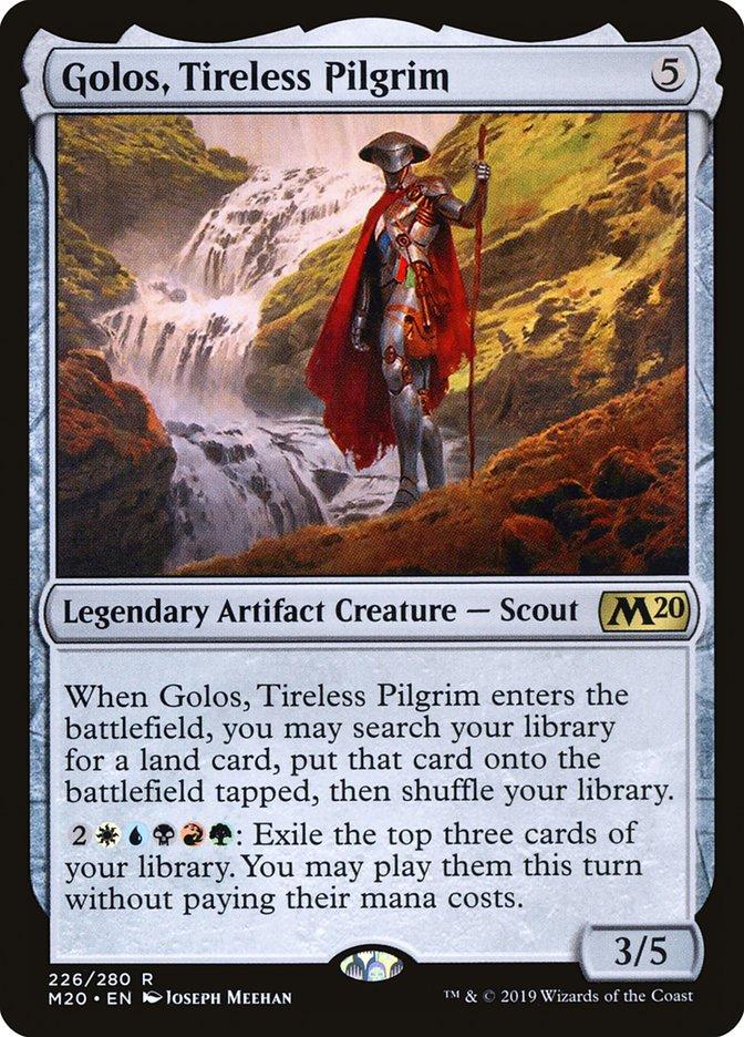 Golos, Tireless Pilgrim