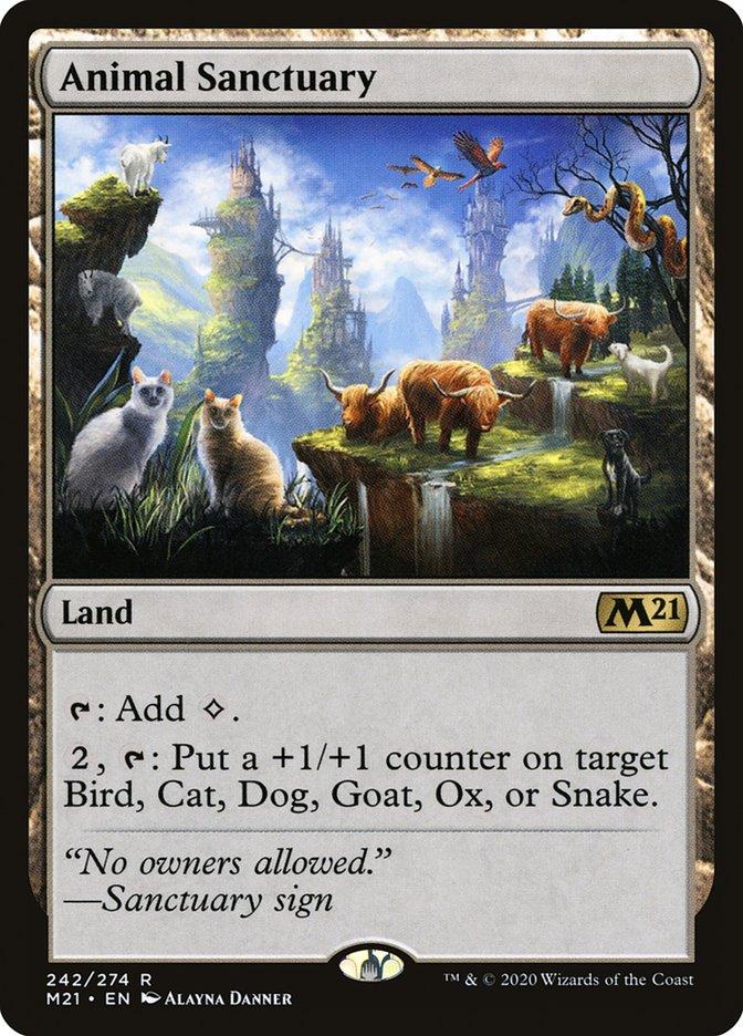 Carta /Animal Sanctuary de Magic the Gathering
