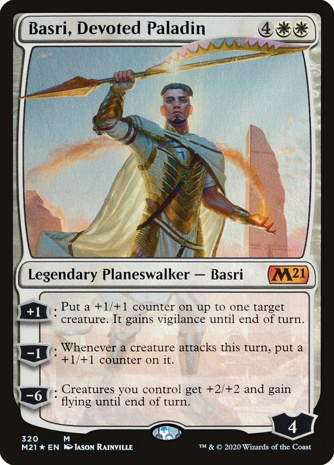 Carta /Basri, Devoted Paladin de Magic the Gathering
