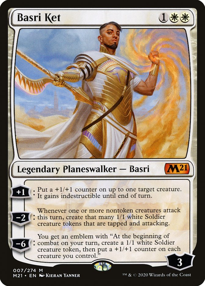 Carta /Basri Ket de Magic the Gathering