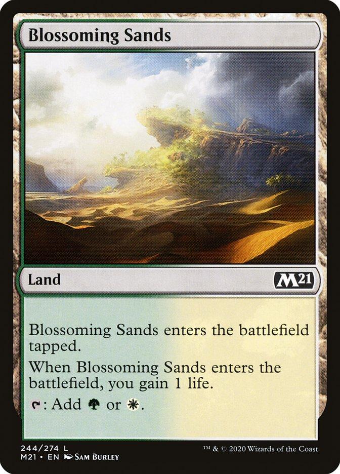 Carta /Blossoming Sands de Magic the Gathering