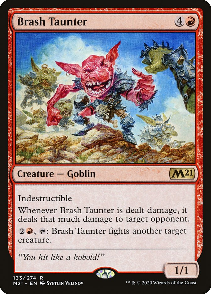 Carta /Brash Taunter de Magic the Gathering