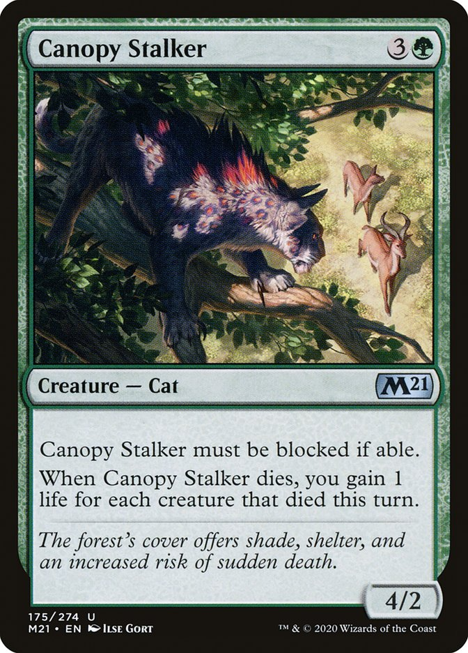 Carta /Canopy Stalker de Magic the Gathering
