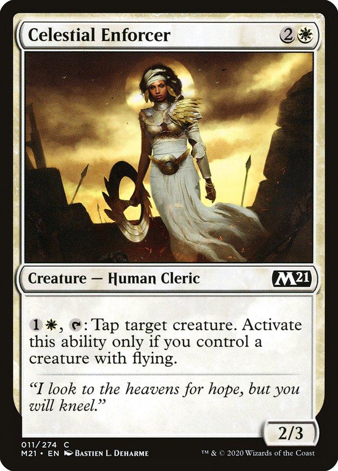 Carta /Celestial Enforcer de Magic the Gathering