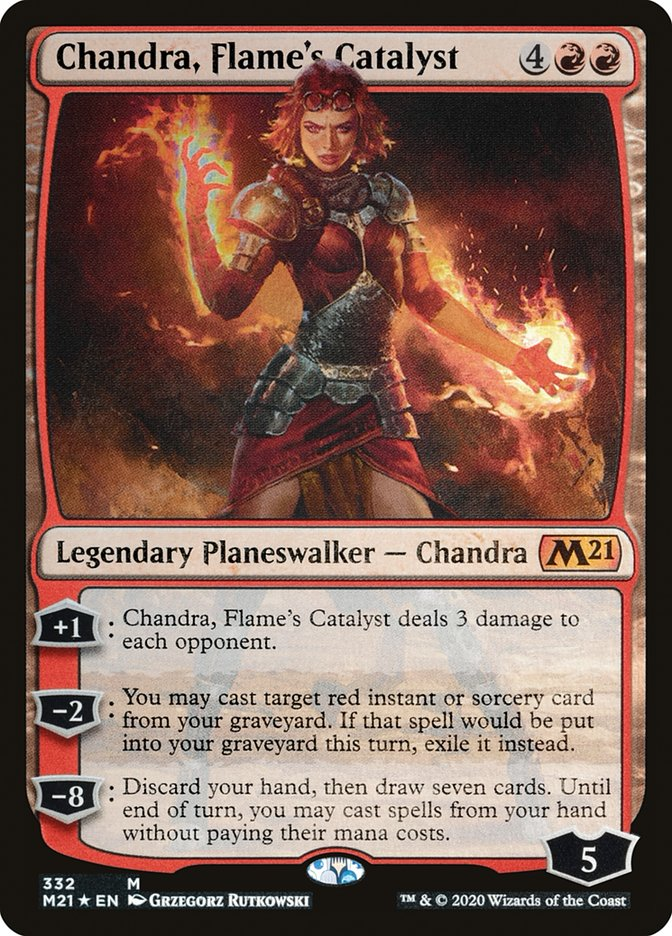 Carta /Chandra, Flame's Catalyst de Magic the Gathering