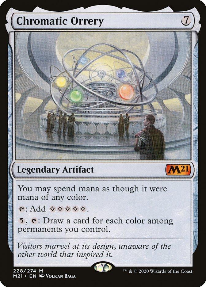 Carta /Chromatic Orrery de Magic the Gathering