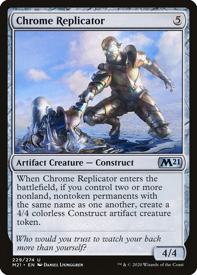 Carta /Chrome Replicator de Magic the Gathering