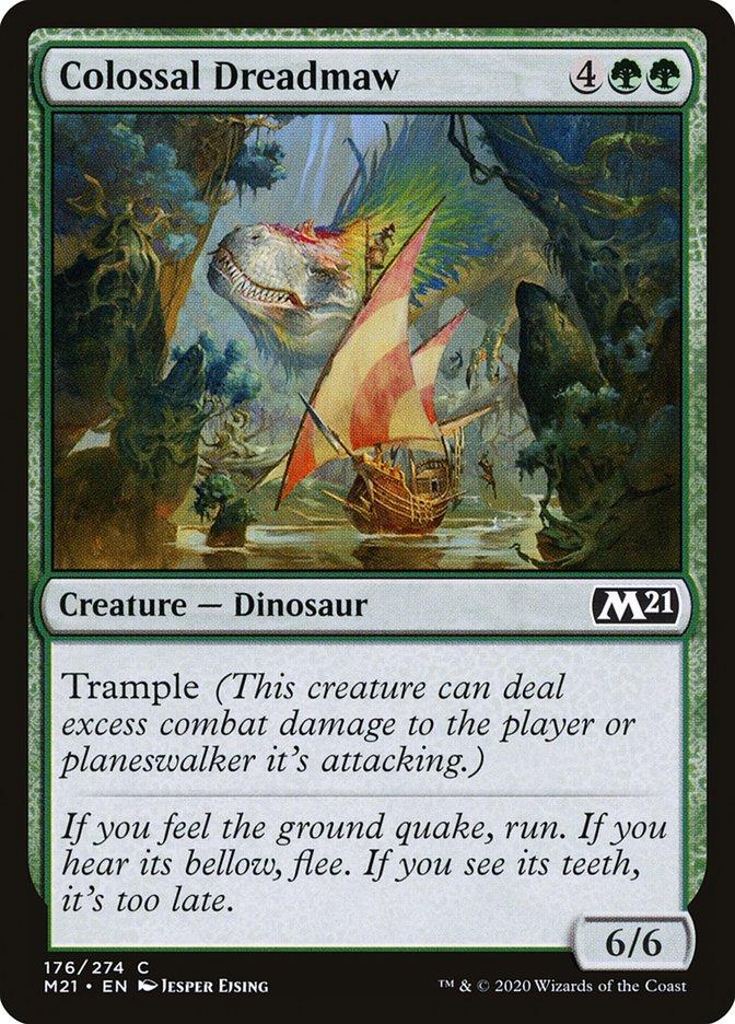 Carta /Colossal Dreadmaw de Magic the Gathering