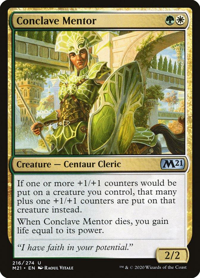 Carta /Conclave Mentor de Magic the Gathering