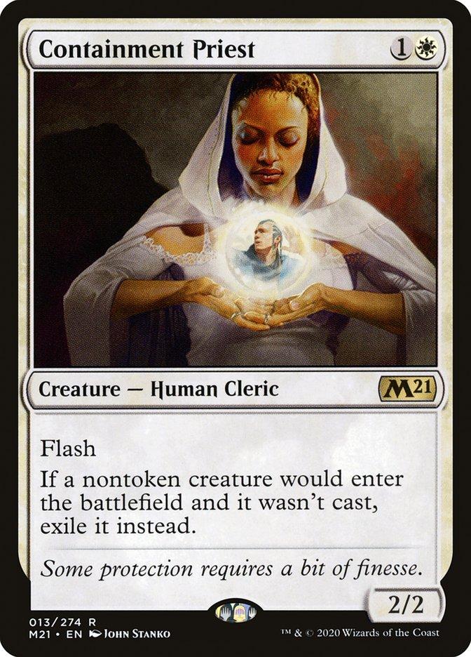 Carta /Containment Priest de Magic the Gathering